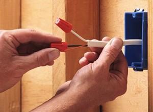 Замена розеток и выключателей