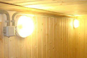 Монтаж настенных и потолочных светильников